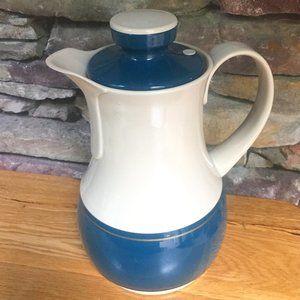 Vintage Thermos Coffee Carafe #570 Blue